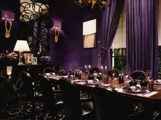 Joel Robuchon's Restaurant Decor