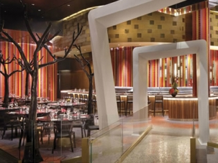 Julian Serrano Walkway and Bar at Aria on Casino Level