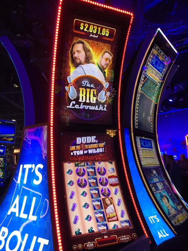 The Big Lebowski Slot Machine