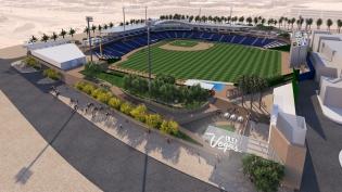 Rendering Las Vegas Baseball