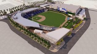 Las Vegas Baseball Park Rendering
