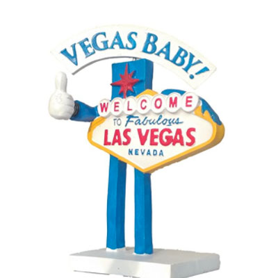 Bobble Head Las Vegas Sign
