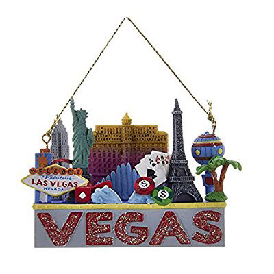 Vegas Tree Ornament