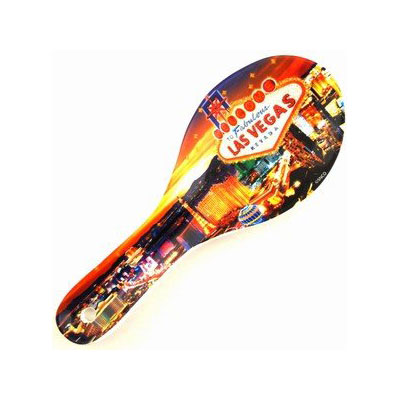 Spoon rest with las vegas logo