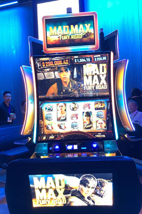 Mad Max Slot Machine Las Vegas