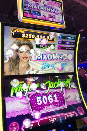 Madonna Slot Machine Las Vegas