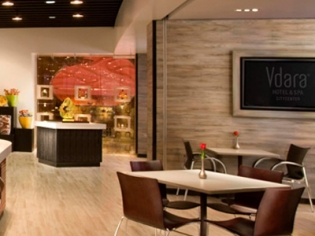 Market Cafe Vdara Seating Area