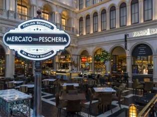 Mercato Della Pescheria at the Venetian Las Vegas