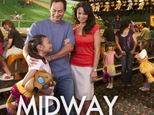 Parents and Daughter at Midway