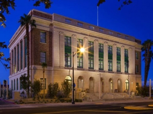 Mob Museum Building in Las Vegas