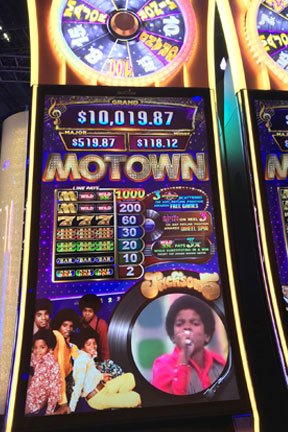 Motown Slot Machine Las Vegas