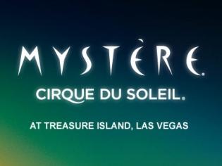 Treasure Island's Mystere Logo