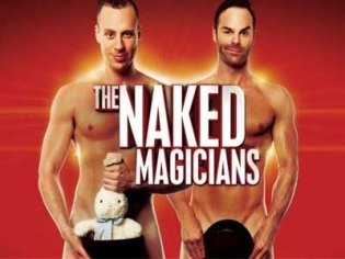 The Naked Magicians now appearing at MGM Grand Las Vegas