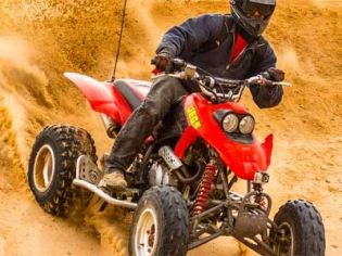 Nellis dune ATV Tour by Las Vegas ATV