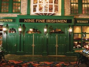 Nine Fine Irish Men Doors and Signs