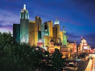 NYNY Las Vegas Exterior View