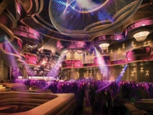 Omnia Nightclub Interior at Caesars Palace Las Vegas