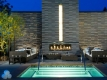 Hot Tub & Daybeds by a Romantic Fireplace
