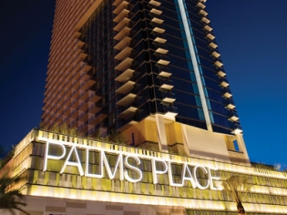 Palms Place Hotel Main Entrance with Tower