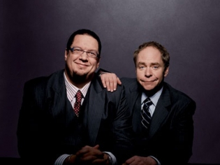Penn and Teller in Suits