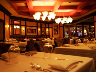 Phils Italian Steakhouse Tablescape