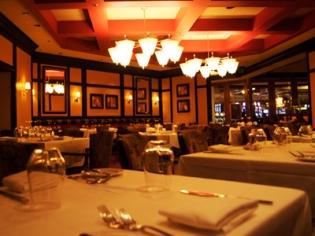 Phils Italian Steakhouse Tablescape