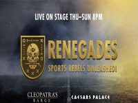 Renegades, Sports Rebels Unleashed at Caesars Palace