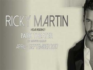 Ricky Martin Las Vegas residency at the Park theater