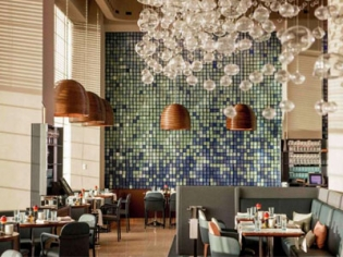 River Mediterranean style restaurant at the Delano