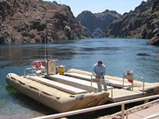 River Rafting down Black Canyon