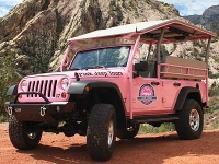 Red Rock Canyon Rocky Gap Adventure Pink Jeep Tour