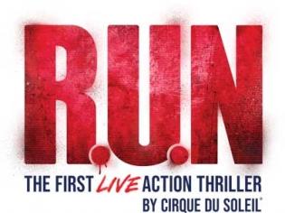 R.U.N. the First Live Action Thriller by Cirque du Soleil