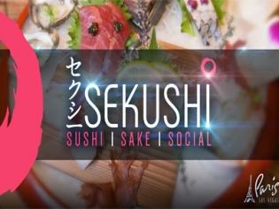 Sekushi sushi and sake bar at Paris Las Vegas