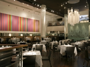 Spago Restaurant's Interior Decor