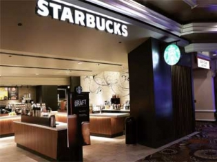 Starbucks with three locations at the MGM Grand Las Vegas