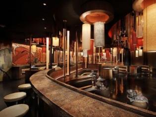 Bar Area Inside Sushi Samba