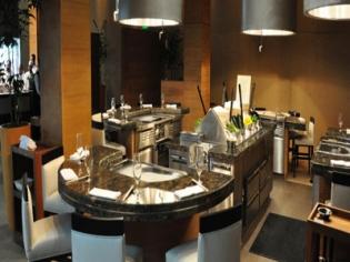 Tetsu teppan grill inside BarMasa at Aria