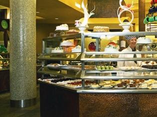 The Buffet Hilton Dessert Counter