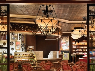 Inside The Cafe at the Drugstore Wynn