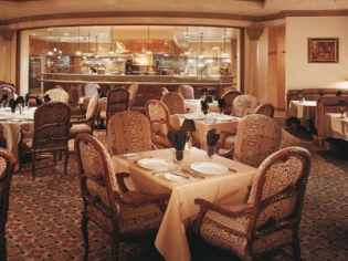 Seating and Kitchen The Steakhouse at Camelot
