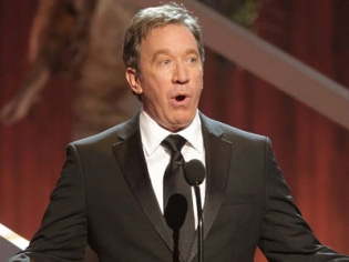 Tim Allen During Performance