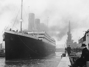 Over 250 Authentic Artifacts Recovered from the Wreck Site of the Titanic,