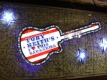 Toby Keiths Bar and Grill Guitar Sign