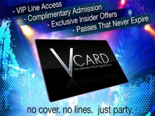 V Card – The Vegas Nightclub Pass