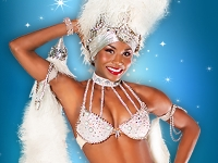 Vegas! The Show Main Dancer in White