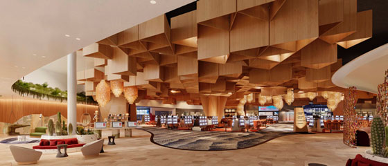 Virgin Hotels Lobby Rendering