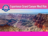 Grand Canyon West Rim Pink Jeep Tour