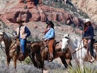 Wild West Horseback Ride and Sunset BBQ w/ three horses