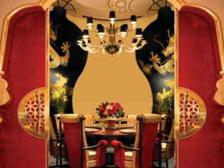 Private Dining Area at Wing Lei