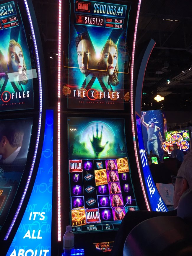 The X-Files V2 Slot Machine